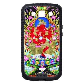 Cool oriental tibetan thangka god tattoo art samsung galaxy SIII case