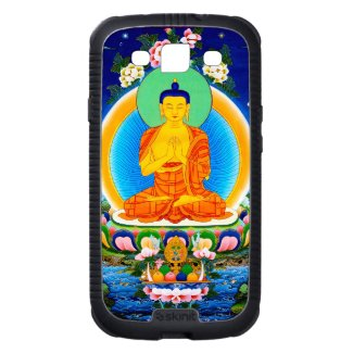 Cool oriental tibetan thangka god tattoo art galaxy s3 cover