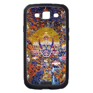 Cool oriental tibetan thangka god tattoo art samsung galaxy s3 covers