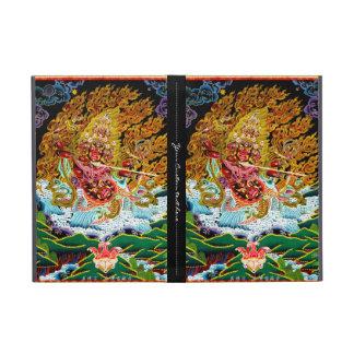Cool oriental tibetan thangka god tattoo art case for iPad mini
