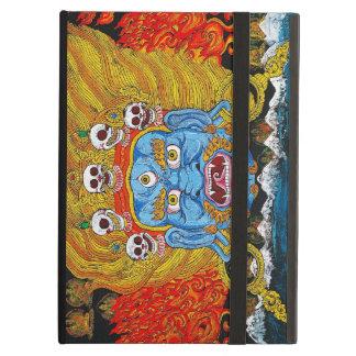 Cool oriental tibetan thangka god tattoo art iPad air case