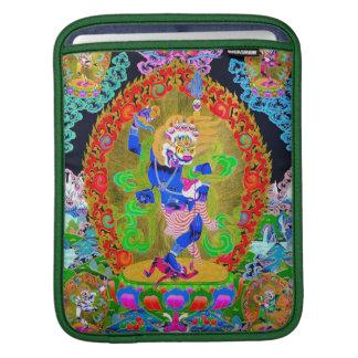 Cool oriental tibetan thangka god tattoo art iPad sleeve