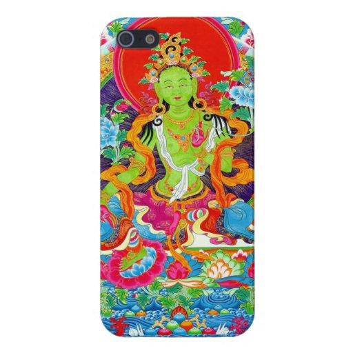 Cool oriental tibetan thangka god tattoo art iPhone 5 case
