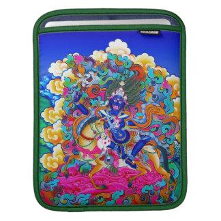 Cool oriental tibetan thangka god tattoo art sleeve for iPads