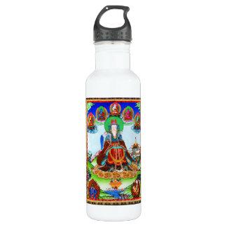 Cool oriental tibetan thangka Golden Mother Stainless Steel Water Bottle
