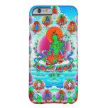 Cool oriental tibetan thangka Green Tara tattoo Barely There iPhone 6 Case