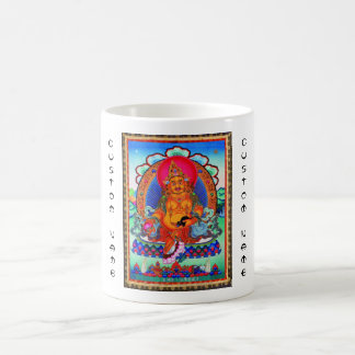 Cool oriental tibetan thangka Jambhala tattoo art Coffee Mug