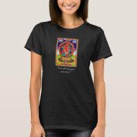 Cool oriental tibetan thangka Kurukulla tattoo T-Shirt