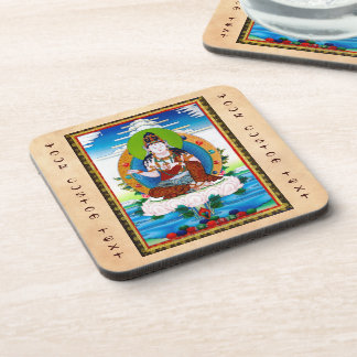 Cool oriental tibetan thangka Mahacakravajra Drink Coaster