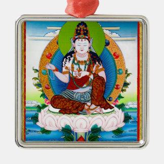 Cool oriental tibetan thangka Mahacakravajra Metal Ornament