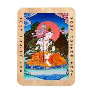 Cool oriental tibetan thangka mandarava tattoo art magnet