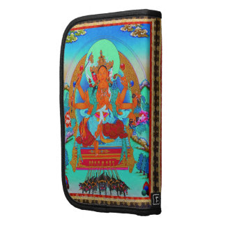 Cool oriental tibetan thangka Marici tattoo Folio Planner