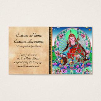 Cool oriental tibetan thangka Padmasambhava Business Card