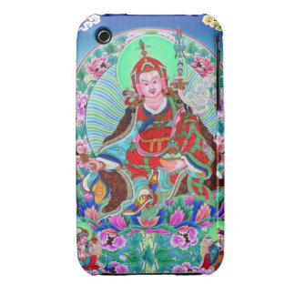 Cool oriental tibetan thangka Padmasambhava iPhone 3 Case-Mate Case