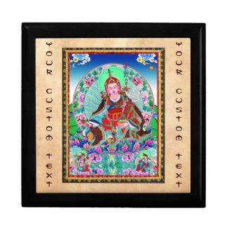 Cool oriental tibetan thangka Padmasambhava Gift Box