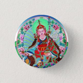 Cool oriental tibetan thangka Padmasambhava Pinback Button