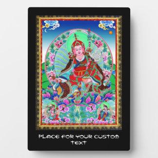 Cool oriental tibetan thangka Padmasambhava Plaque
