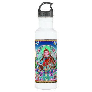Cool oriental tibetan thangka Padmasambhava Stainless Steel Water Bottle