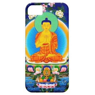Cool oriental tibetan thangka Prabhutaratna Buddha iPhone 5 Covers