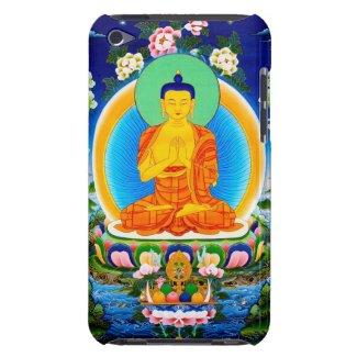 Cool oriental tibetan thangka Prabhutaratna Buddha iPod Touch Cover