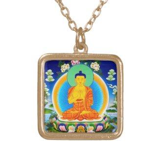 Cool oriental tibetan thangka Prabhutaratna Buddha Jewellery