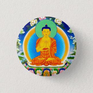 Cool oriental tibetan thangka Prabhutaratna Buddha Pinback Button