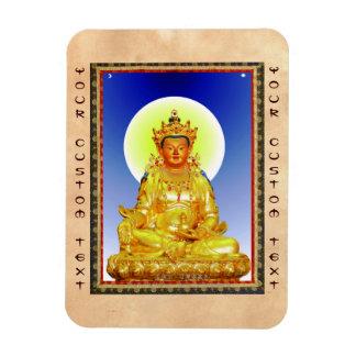 Cool oriental tibetan thangka Prithivi Earth God Magnet