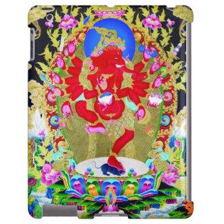 Cool oriental tibetan thangka Red Jambhala tattoo