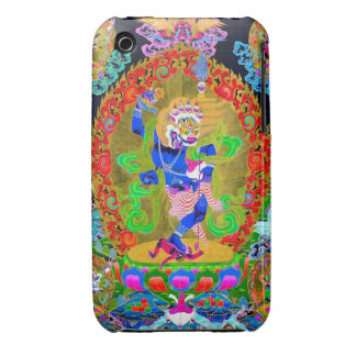 Cool oriental tibetan thangka Simhavaktra Dakini iPhone 3 Case