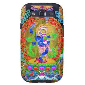 Cool oriental tibetan thangka Simhavaktra Dakini Samsung Galaxy S3 Case