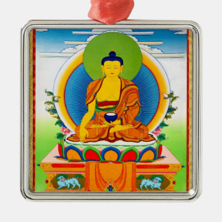 Cool oriental tibetan thangka tattoo Aksobhya Metal Ornament