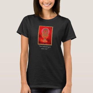 Cool oriental tibetan thangka tattoo art Ragaraja T-Shirt
