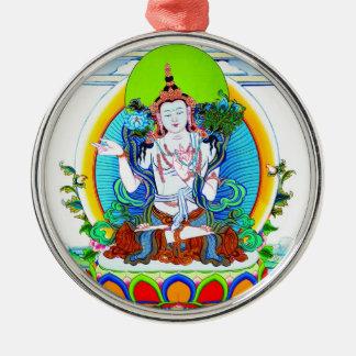 Cool oriental tibetan thangka tattoo Bhogavati Metal Ornament