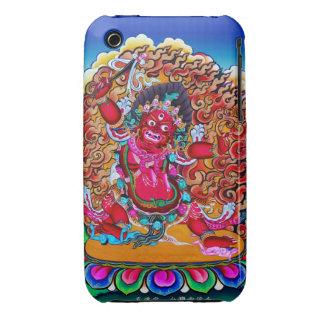 Cool oriental tibetan thangka tattoo Hayagriva Case-Mate iPhone 3 Cases