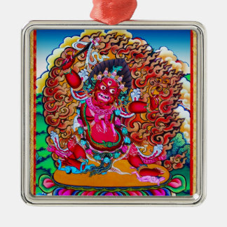 Cool oriental tibetan thangka tattoo Hayagriva Metal Ornament