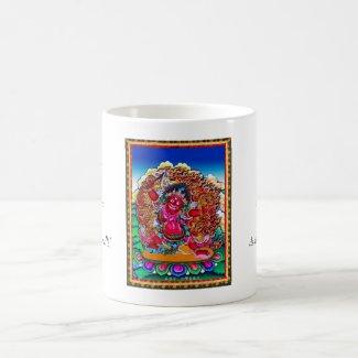 Cool oriental tibetan thangka tattoo Hayagriva Mug