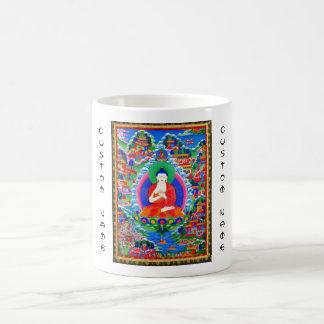Cool oriental tibetan thangka tattoo Mahavairocana Coffee Mugs