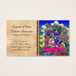 Cool oriental tibetan thangka tattoo Palden Lhamo Business Card