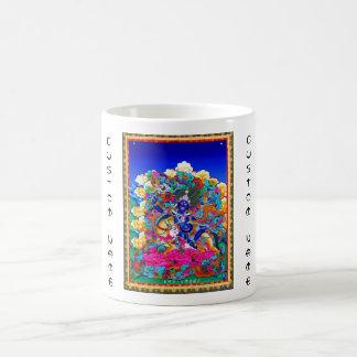 Cool oriental tibetan thangka tattoo Palden Lhamo Coffee Mug