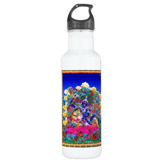 Cool oriental tibetan thangka tattoo Palden Lhamo Stainless Steel Water Bottle