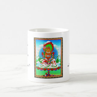 Cool oriental tibetan thangka tattoo Vaishravana Coffee Mug