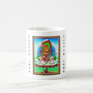 Cool oriental tibetan thangka tattoo Vaishravana Coffee Mug