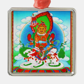 Cool oriental tibetan thangka tattoo Vaishravana Metal Ornament