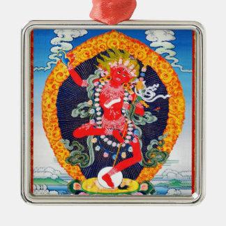 Cool oriental tibetan thangka tattoo Vajravarahi Metal Ornament