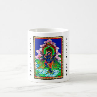 Cool oriental tibetan thangka Ucchusma tattoo Coffee Mug