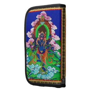 Cool oriental tibetan thangka Ucchusma tattoo Folio Planners