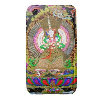 Cool oriental tibetan thangka Usnisa Sitatapatra iPhone 3 Case