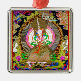 Cool oriental tibetan thangka Usnisa Sitatapatra Metal Ornament