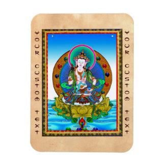 Cool oriental tibetan thangka Vajrasattva tattoo Magnet