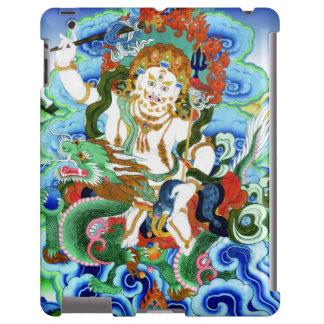 Cool oriental tibetan thangka White Jambhala